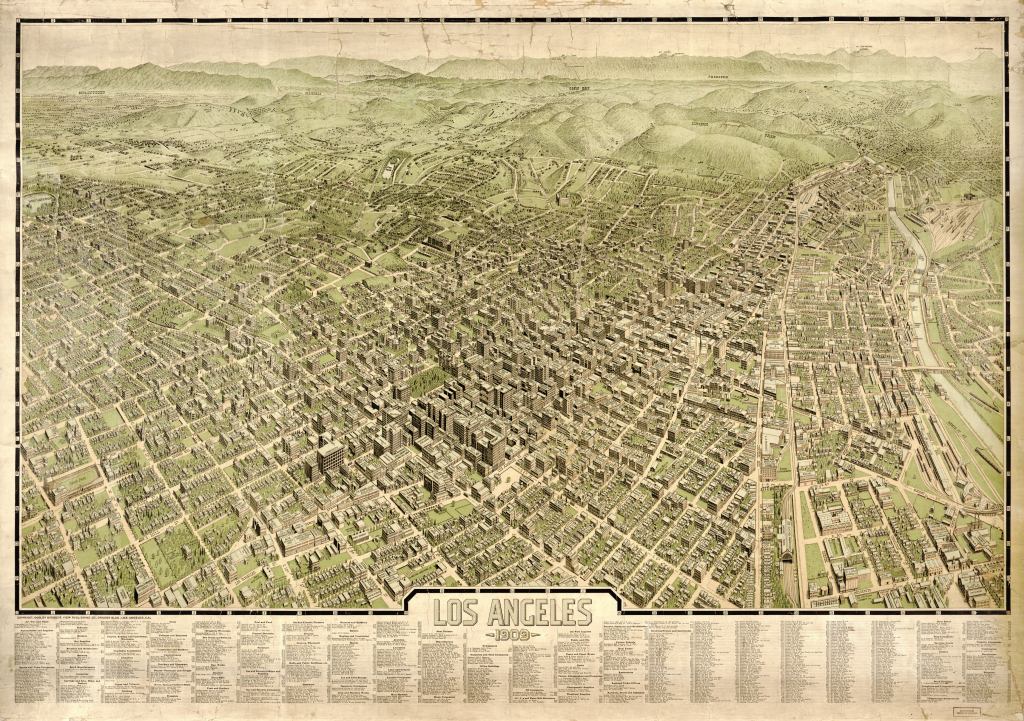 Four Ridiculously Hi-Res Maps of Los Angeles in the Early 1900s